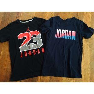2 Jordan T-shirt's